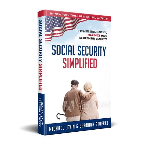 Retirement Book Cover Design