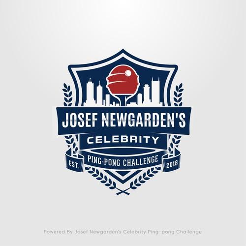 Josef Newgarden's Celebrity Ping-Pong Challenge Logo