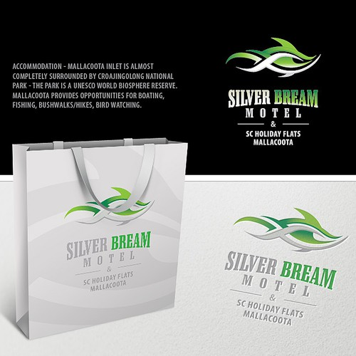 Logo for Silver Bream Motel