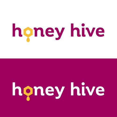 Logo concept for honey production company