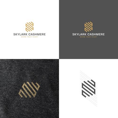 Skylark Cashmere | Logo Design