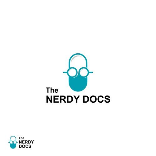 logo design for nerdy docs