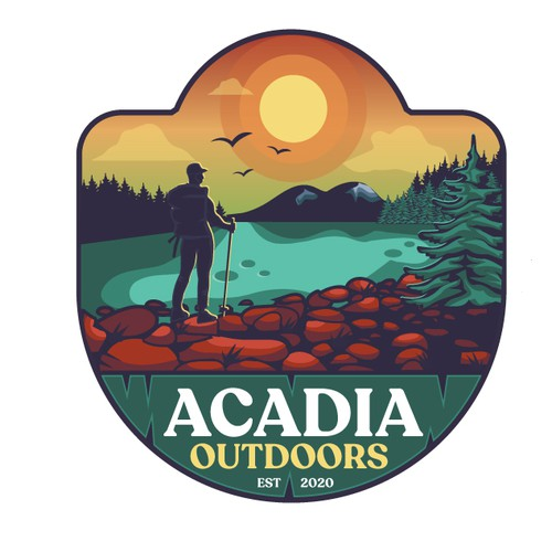 Acadia Outdoors logo