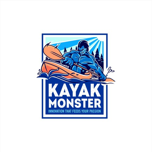 Kayak monster