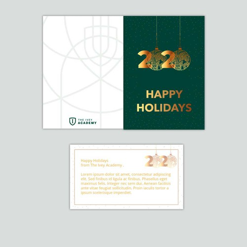 Fun & Festive Corporate Holiday Card