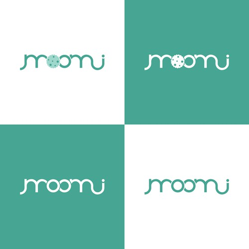 Logo for company which produces lactation cookies, made with ingredients that promote healthy breast milk supply to help mothers navigate the 4th trimester.