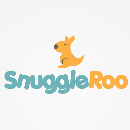 Logo for modern baby/children products company