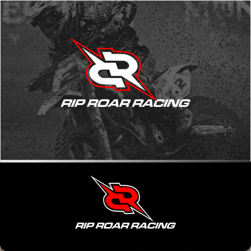 DIRT BIKE RACING COMPANY LOGO