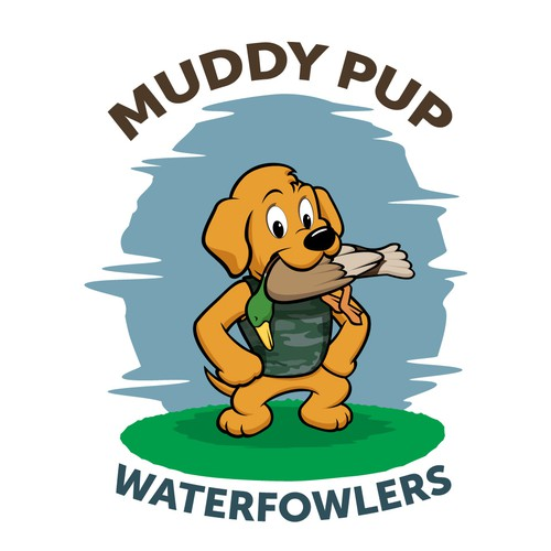 Mascot for Muddy pup