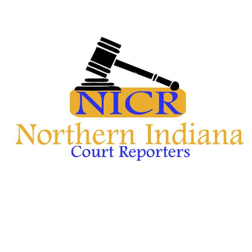 Logo for a court reporting company