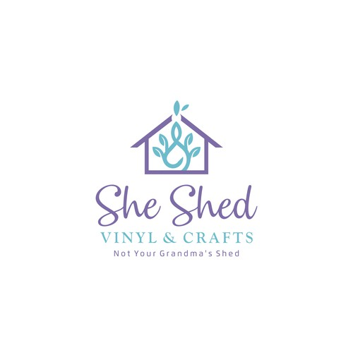 Design logo for craft store (She Shed )