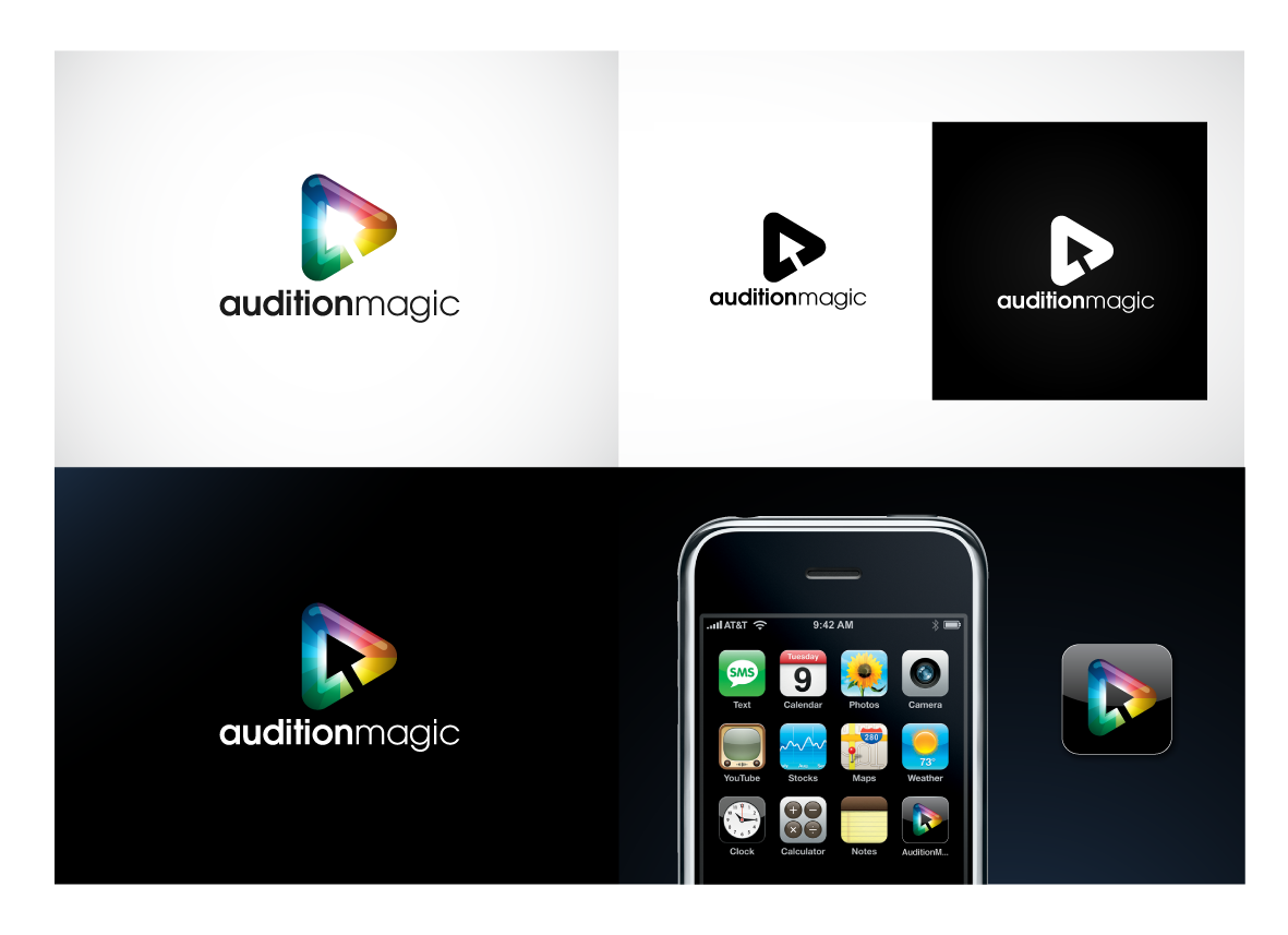 Create the next logo for Logo Design for 'AUDITION MAGIC' new company