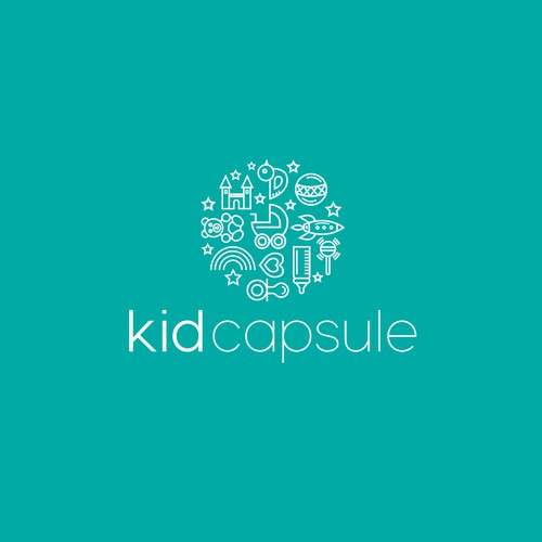 Clean Line Design for KidCapsule