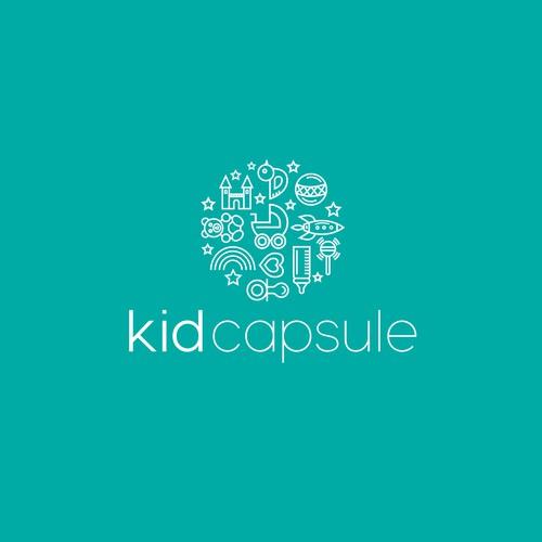 Clean Line Design for KidCapsule