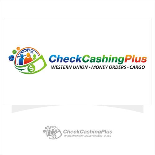 logo for check cashing plus