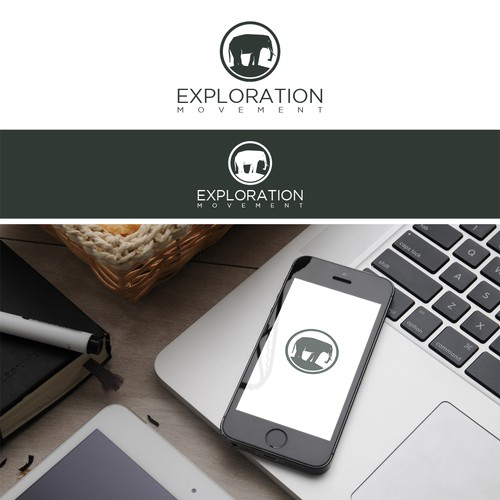 Clean logo for The Exploration Movement