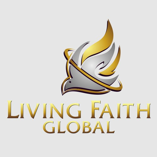 Logo concept for Living Faith Global