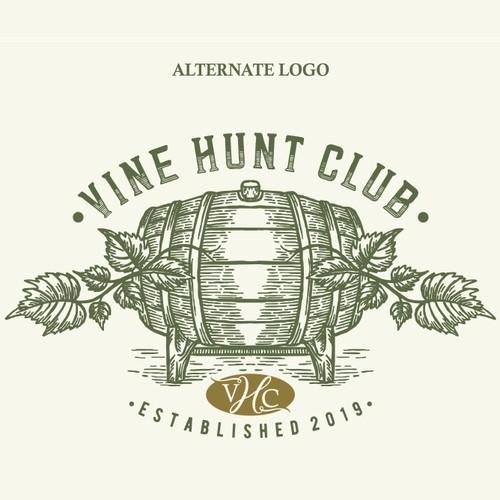 "De$ign a creative, whimsical & sophisticated logo for new wine storage biz ""Vine Hunt Club"""