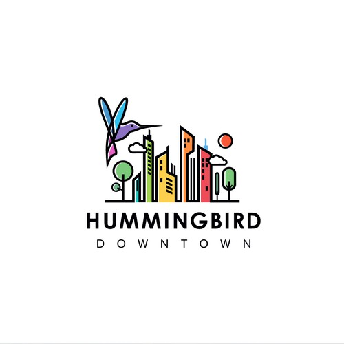 Create an engaging design for Hummingbird Downtown