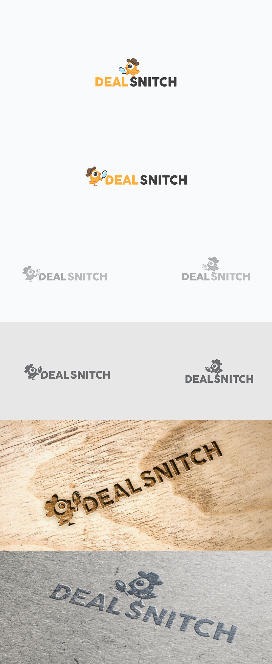 Logo for the Deal Snitch website