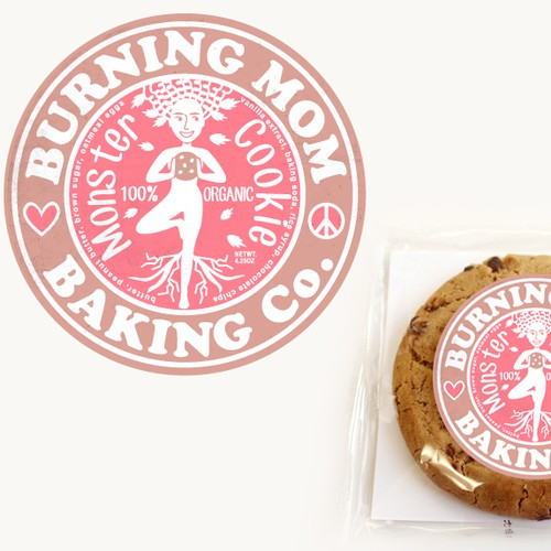 Organic Monster Cookie Logo