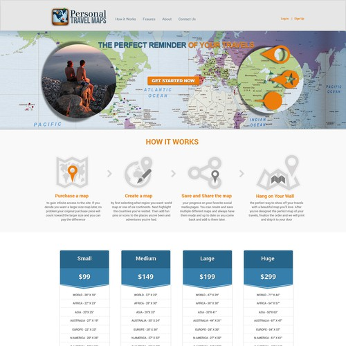 Help design an eye catching graphic for a Home Page of a travel site.