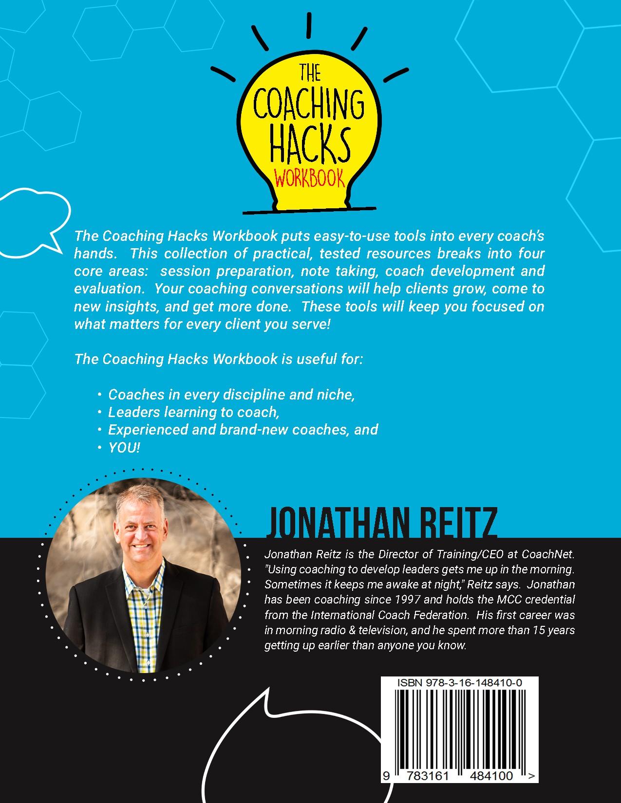 Coaching Hacks Book Cover!