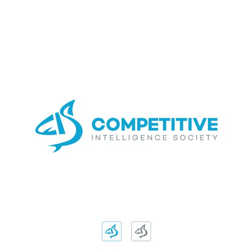 Winning design for Competitive Intelligence society logo contest.