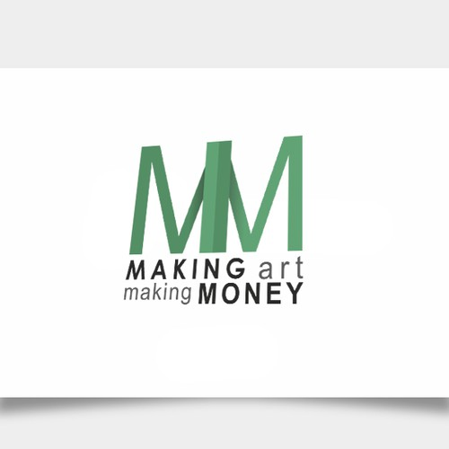 Create a logo about making art and making money and I will pay you :)