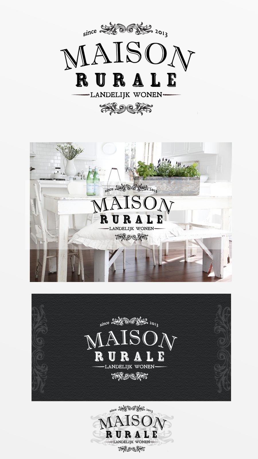 Logo Design for Maison Rurale