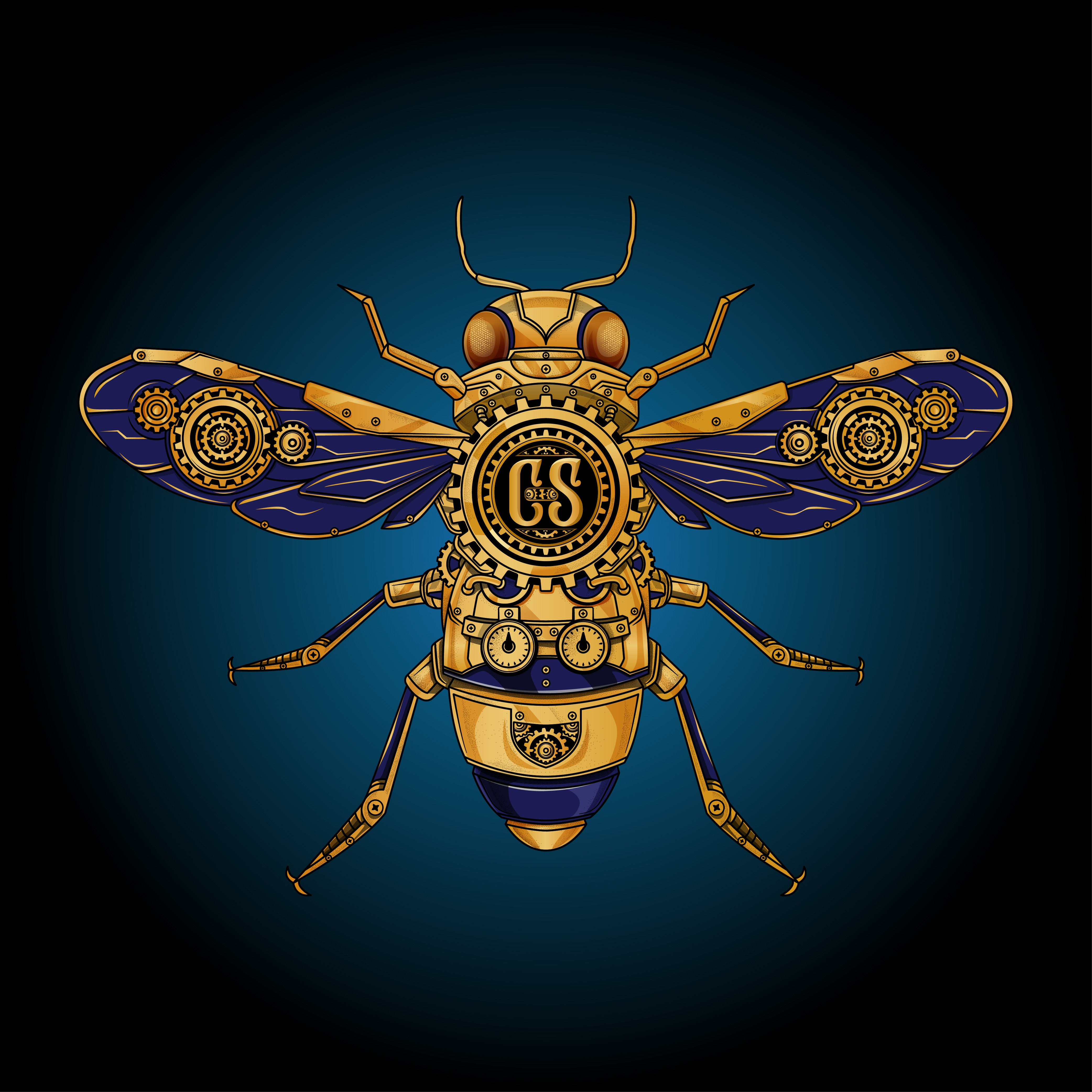 Create Buzz with a Steampunk Honey Bee Mead Label