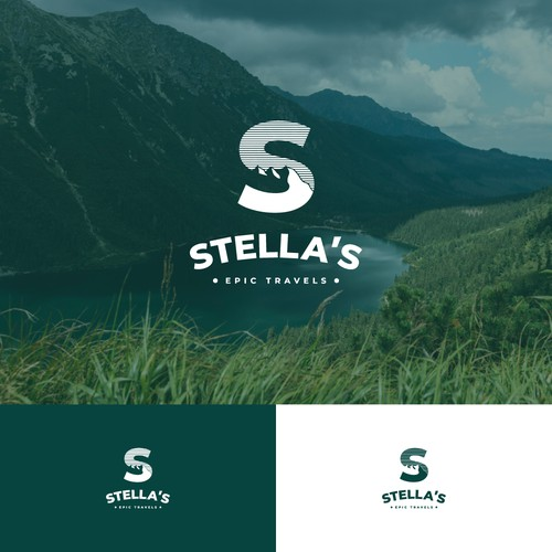 logo concept for travel company