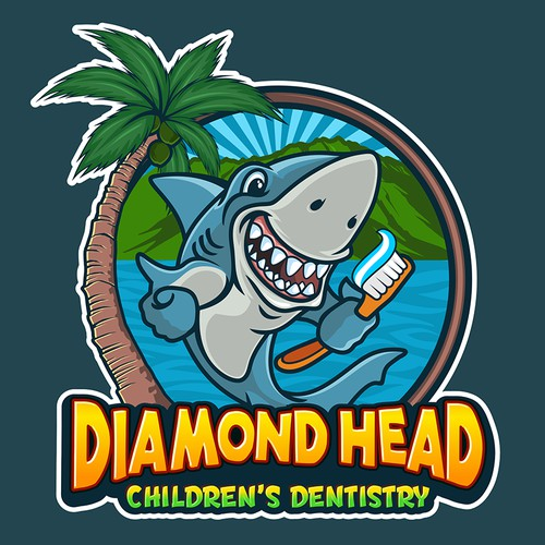 Fun logo for pediatric dental office