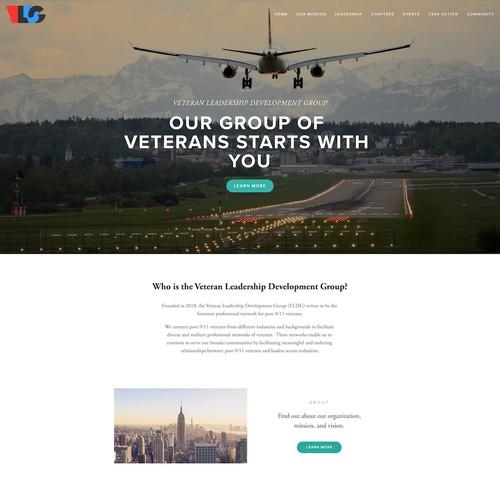 Modern Design Work for Veteran's Professional Group
