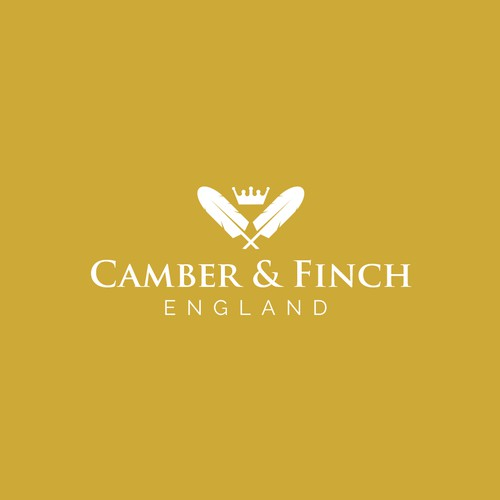 Vintage and Elegant Concept Logo for clothing in England
