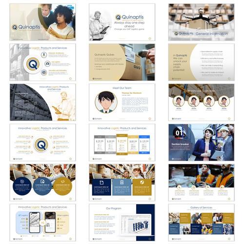 Presentation for logistics software