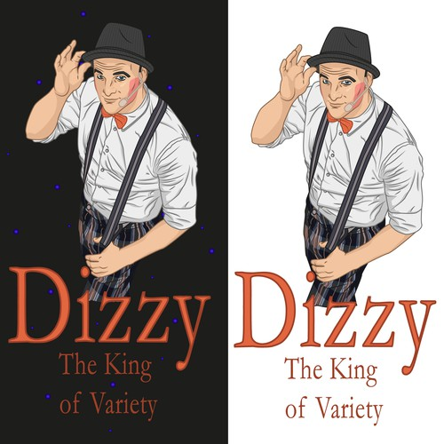 """DIZZY - The King of Variety"" Logo"