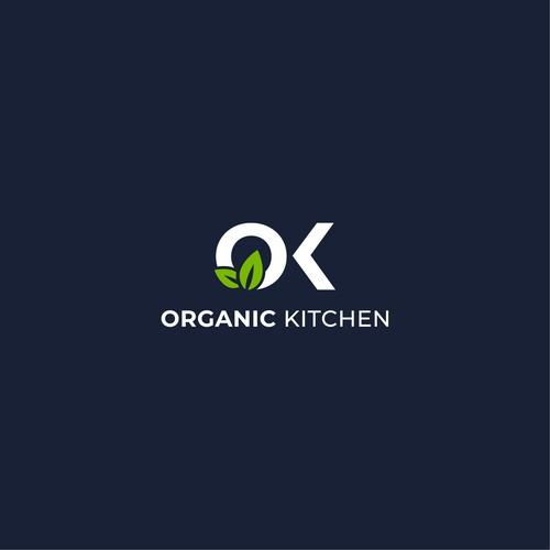 Organic Kitchen Logo Concept