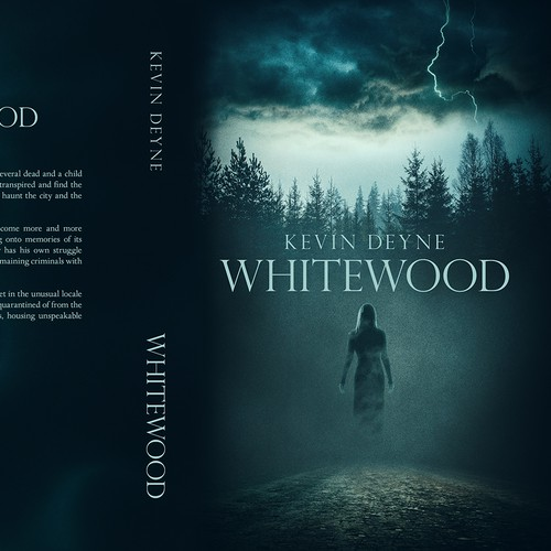 """Whitewood"" book cover"