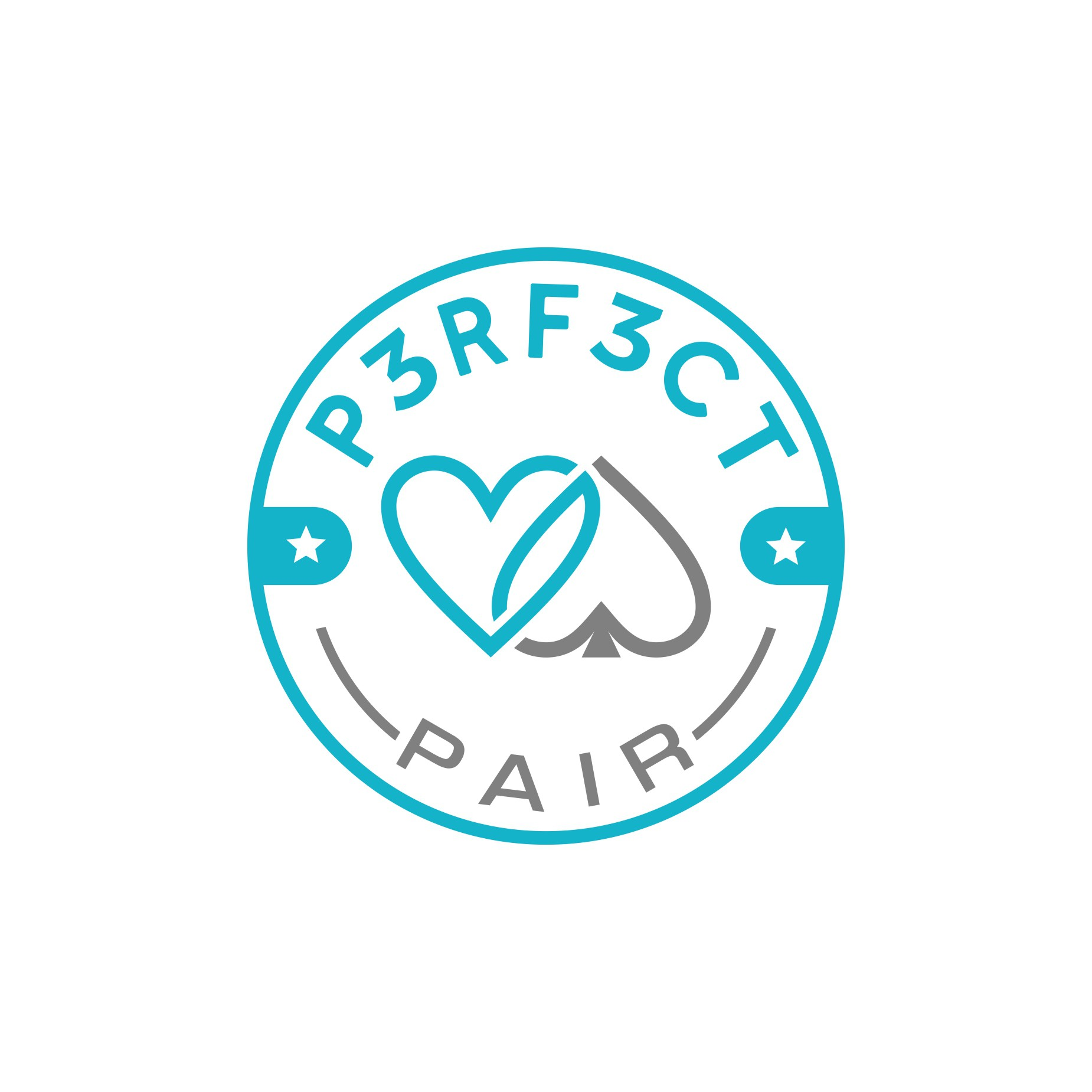 A Perfect Pair Logo for a couple that is truly a Perfect Pair!