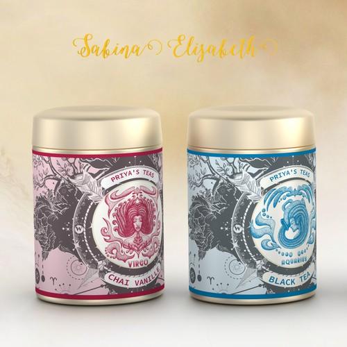 Hip Design needed for Astrology Tea