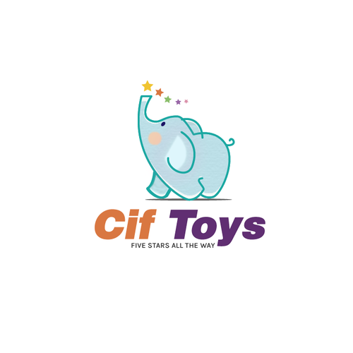 Logo concept for Cif TOYS