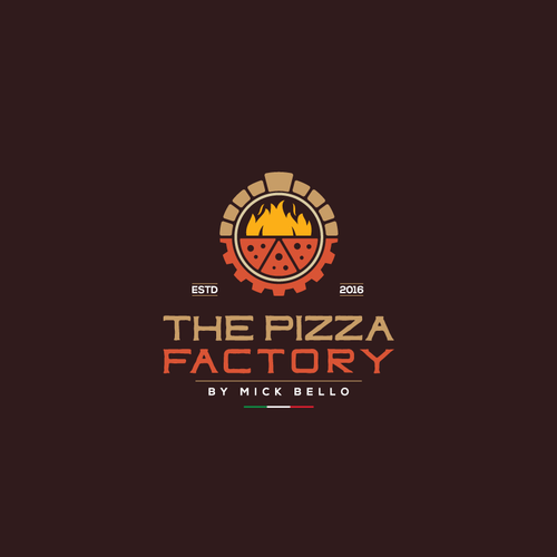 Logo for Pizza Factory