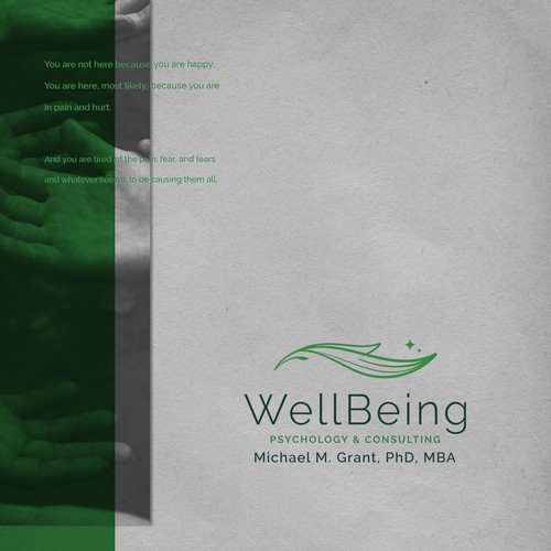 A logo for WellBeing Psychology & Consulting