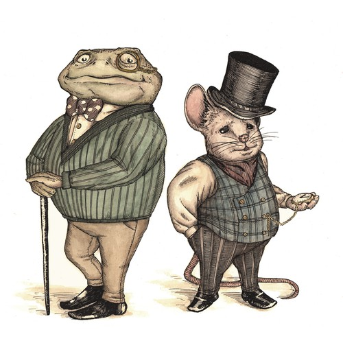 Mouse and Toad