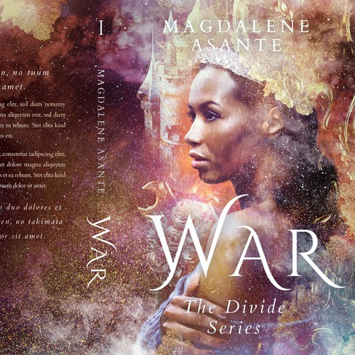 Young Adult Fantasy book 'The Divide Series: War' by Magdalene Asante