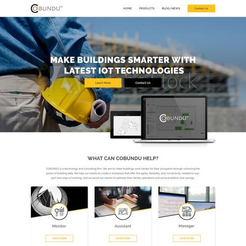 IOT Tool Website Design
