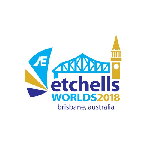 Etches Worlds 2018 Logo Design