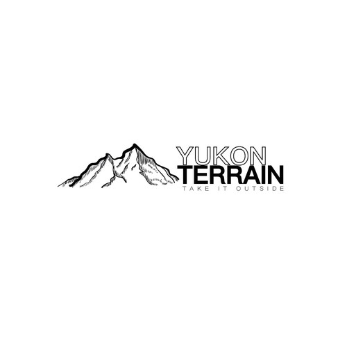 Yukon Terrain - a logo to express outdoors