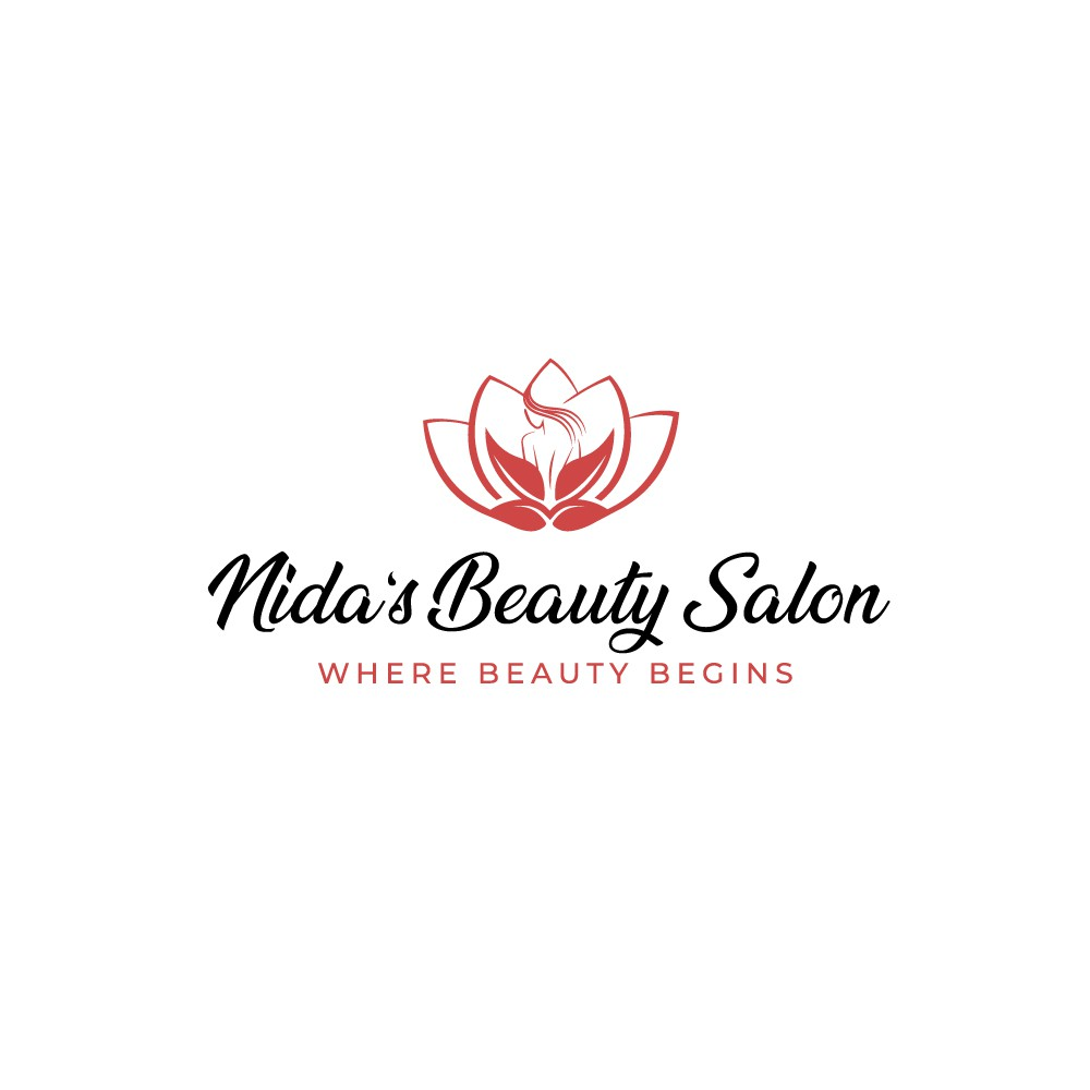 Nida's Beauty Salon braucht ein neues Logo